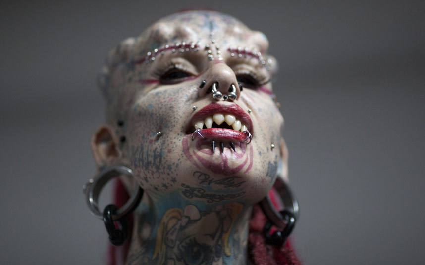 Extreme Tattoos Piercings And Implants Body Modifications