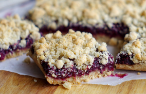 Blackberry-Oat-Chia-Bars