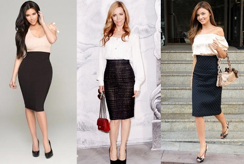 Pencil skirt how do you wear it?