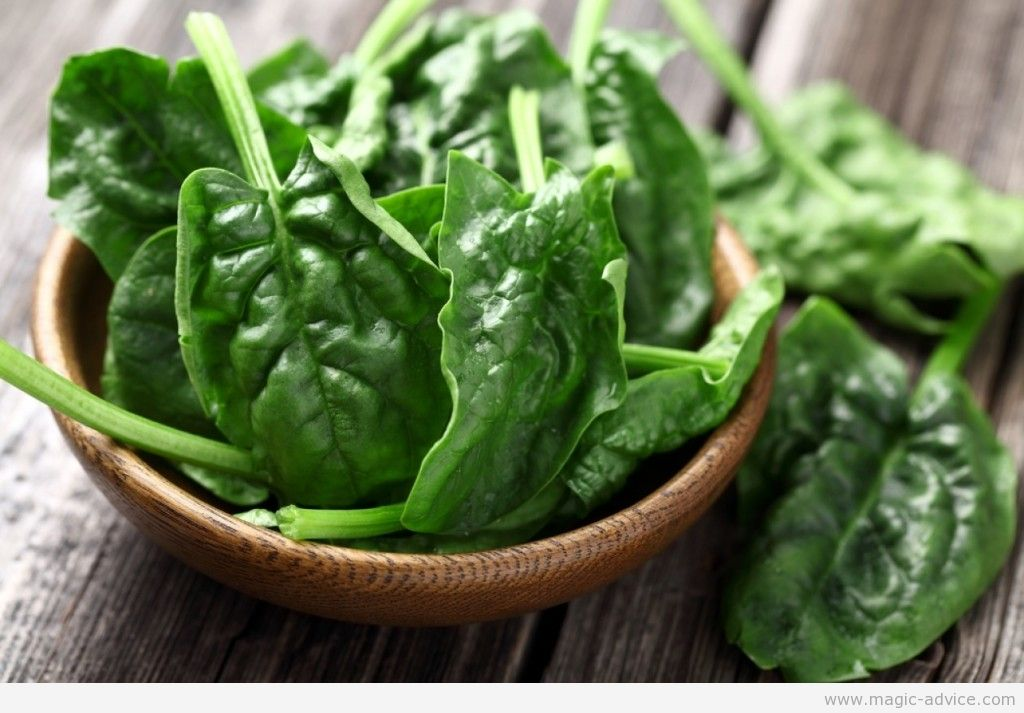 diet foods spinach